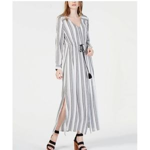 INC Striped Maxi Dress